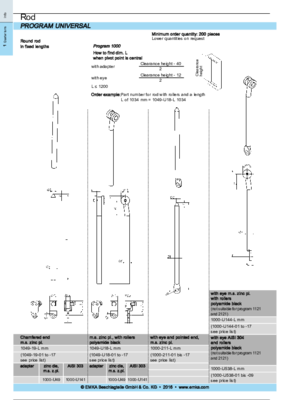 1C-620: Rods Program universal