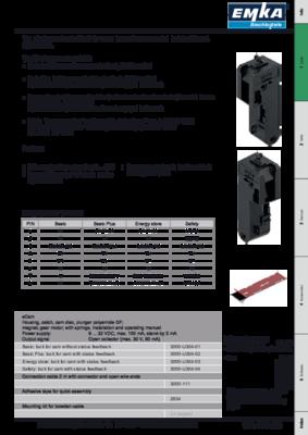 11A-144: eCam Electromechanical lock for cams