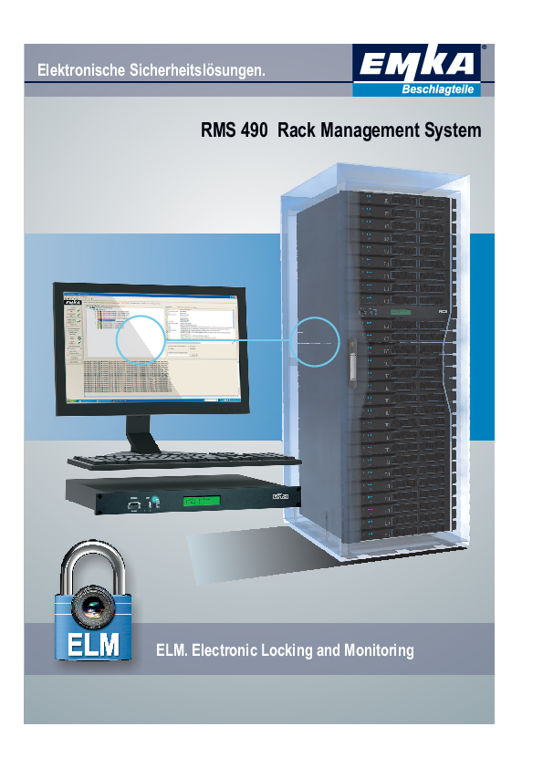 EMKA RMS 490 Rack Management System