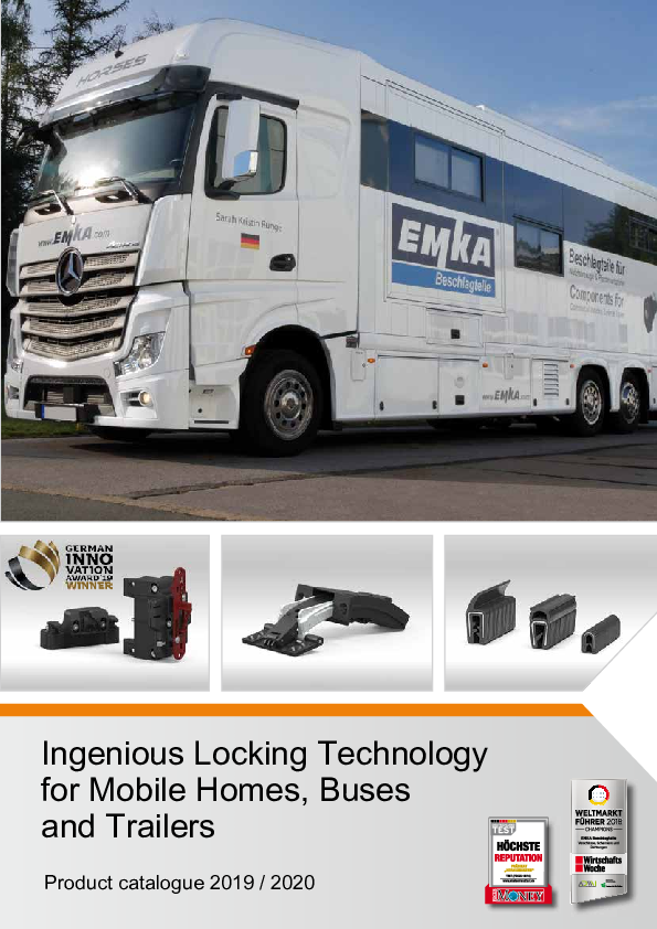 [Translate to es_es:] Ingenious Locking Technology for Mobile Homes and Trailers