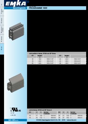 5A-120: Joints Programme 1003