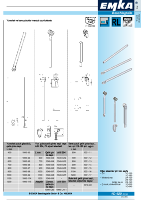 1C-620: Çubuklar Program universal
