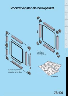 7B-100: EMKA PROflex Voorzetvenster en venstervleugel Programma 1210