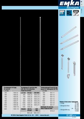 1C-620: Anschlussstange Programm universal