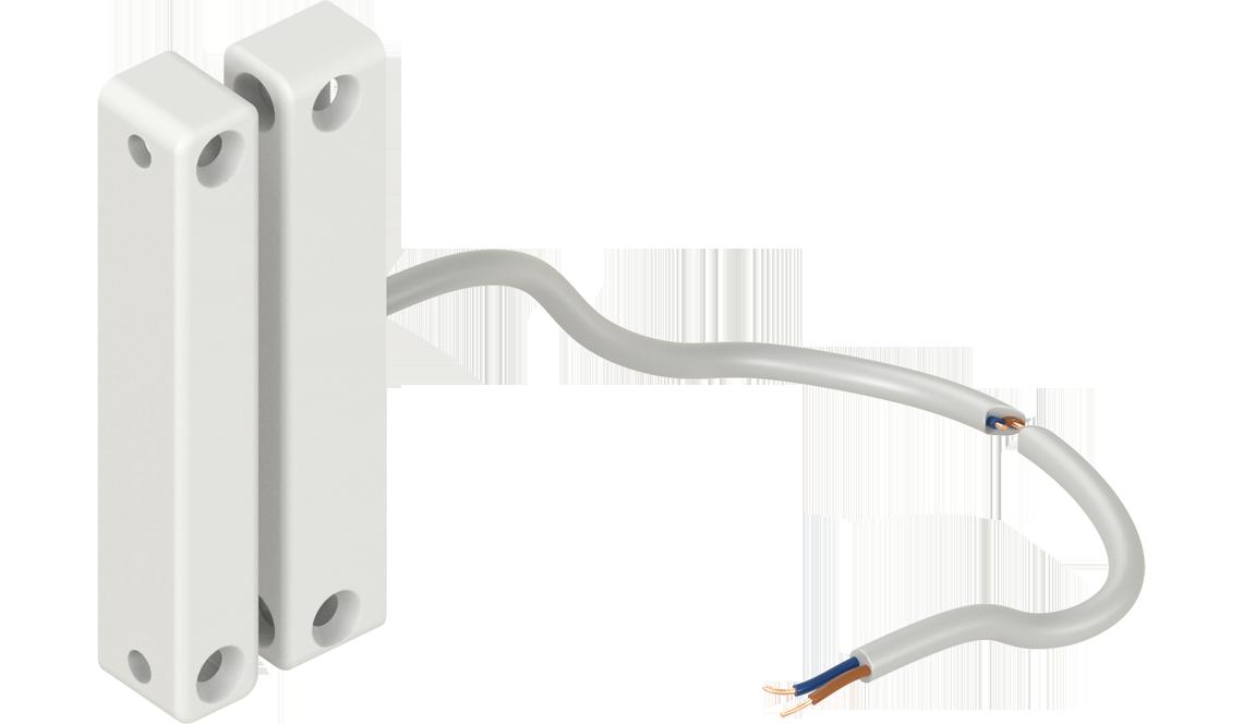 EMKA Flachreedkontakt als Türschalter