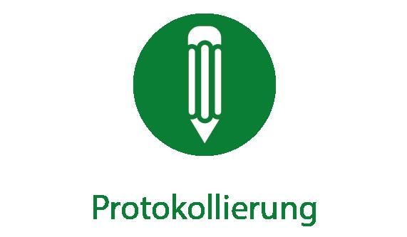 EMKA Piktogramm Protokollierung