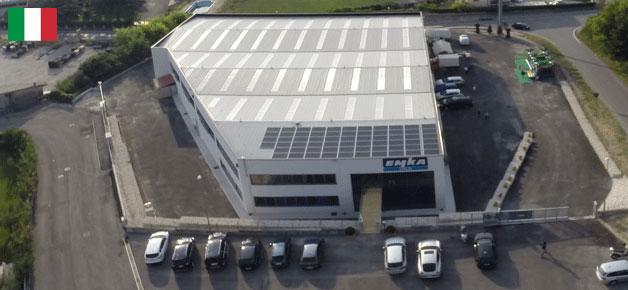 Produktions- und Vertriebsstandort Pastrengo (Gardasee) / Italien