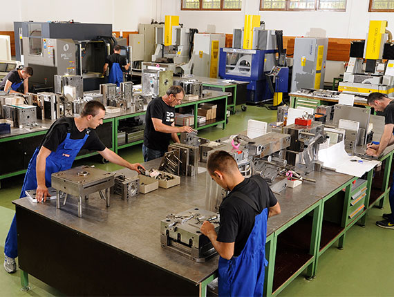 Mould and die production
