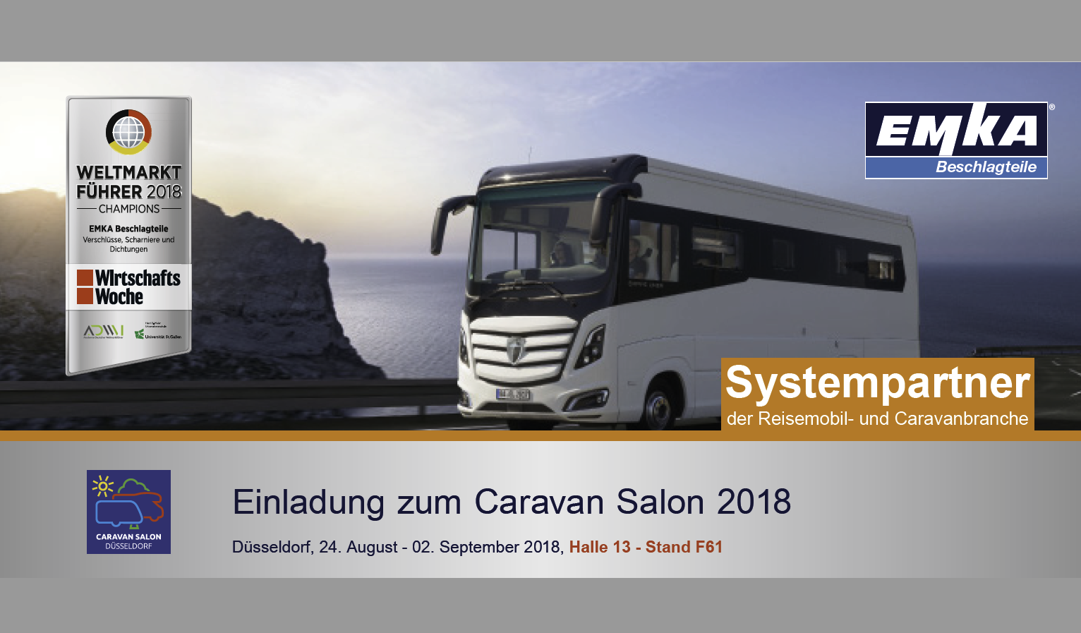 EMKA at the CARAVAN Salon 2018