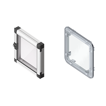 Aluminum Window and Viewing Window