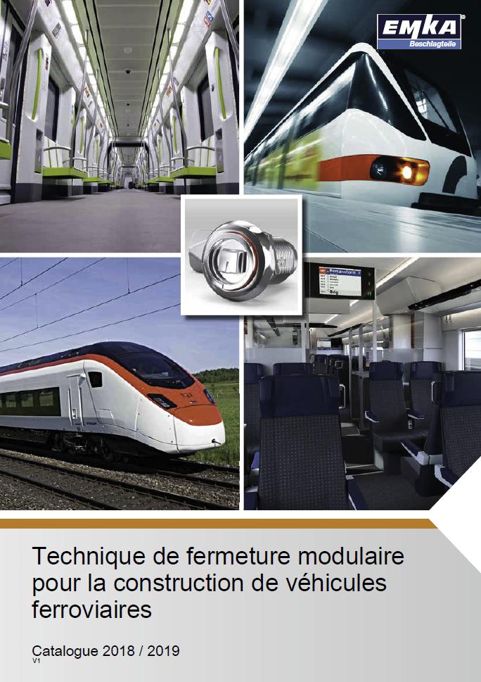 Technique de fermeture modulaire pour la construction de véhicules ferroviaires