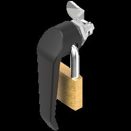 Klinkengriff-Vorreiber für Vorhängeschloss (1000-U860-01AA)