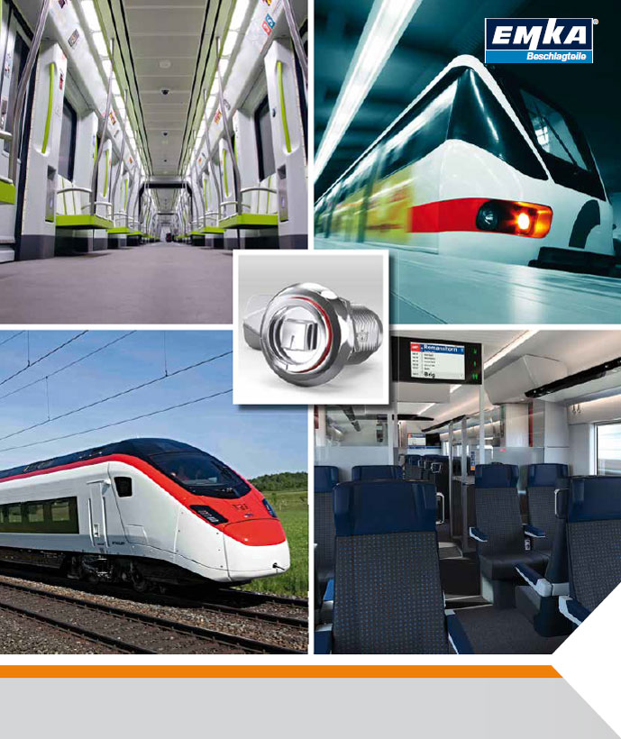 Catalogue Transport Rail - Ingenious Locking Technology for the Railroad Industry