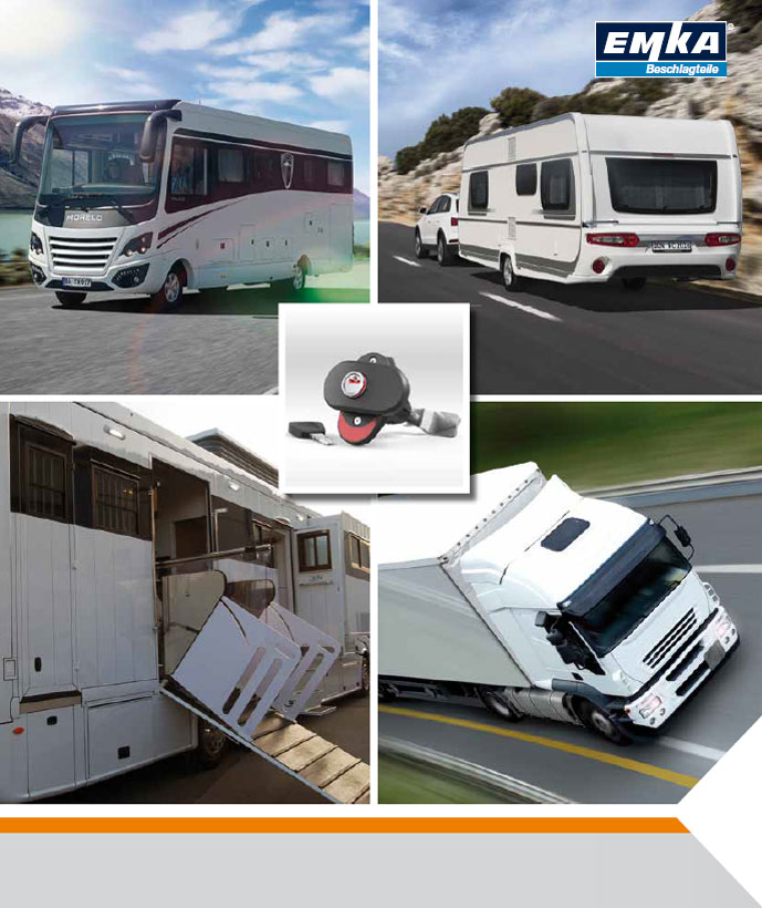 Catalogue Transport Road - Ingenious Locking Technology for Mobile Homes and Trailers