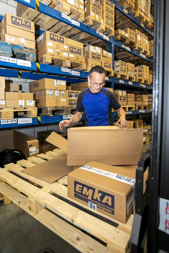 Kao dio modernizacije, skladište kapaciteti su značajno povećani.