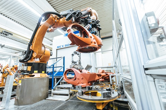 KUKA industrial robots are used in the automotive, electronics, and medical technology sectors and much more.