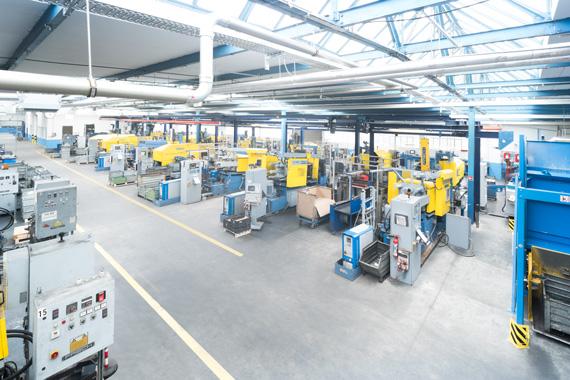Der EMKA USP: Form und Erstmuster entstehen in ein und derselben Produktionsumgebung.