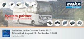 Einladung zum Caravan Salon 2017